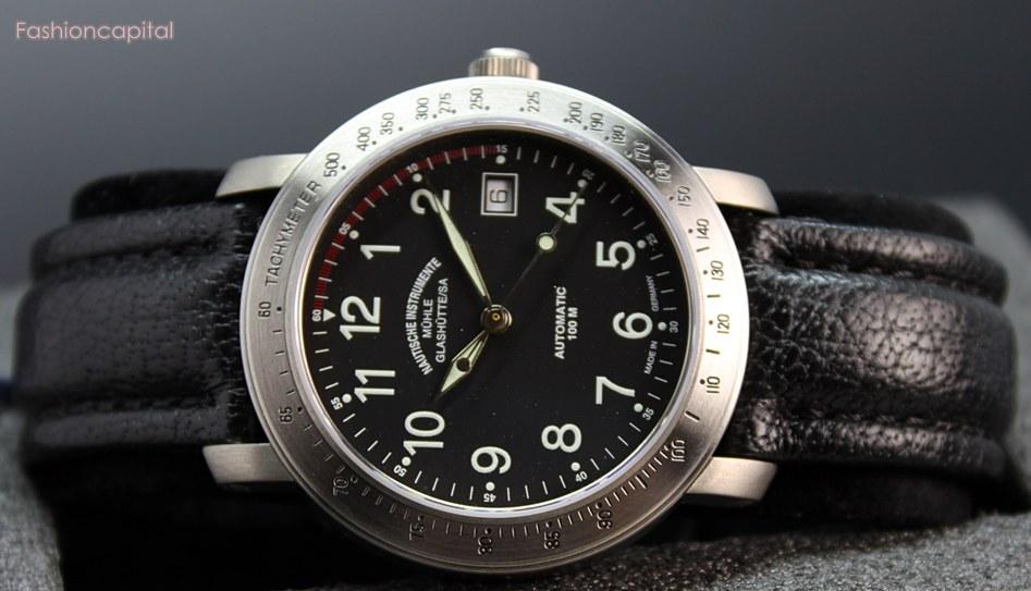 Ebay auction muhle glashutte m hle glash tte men automatic watch titanium marine m3 no reserve usa for Muhle watches