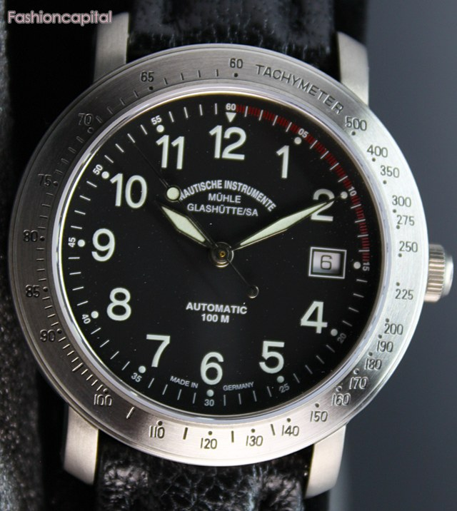 Ends in a few hours made in germany muhle glashutte m hle glash tte automatic watch titanium for Muhle watches